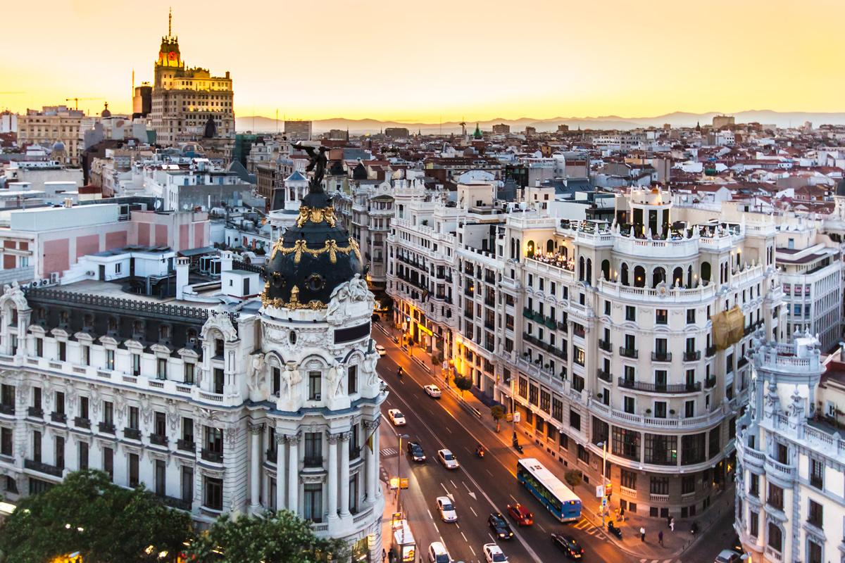 Madrid and Lisbon